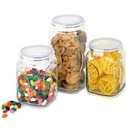 Glasslock - Glass Canister Set 3pce