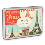 Cavallini - Paris Monuments Gift Tags