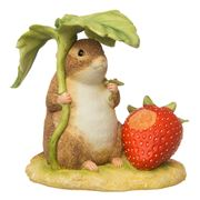 Beatrix Potter - Timmy Willie with Strawberry Figurine