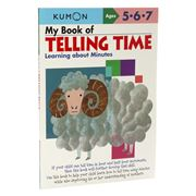 Book - Kumon My Book Of Telling Time: Learning About Minutes