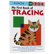 Book - Kumon My First Book Of Tracing