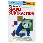 Book - Kumon My Book of Simple Subtraction