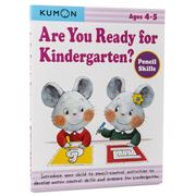 Book - Kumon Are You Ready For Kindergarten? Pencil Skills