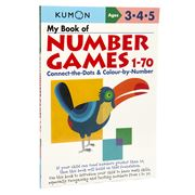 Book - Kumon My Book Of Number Games 1-70