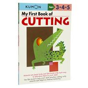 Book - Kumon My First Book Of Cutting