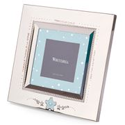 Whitehill - Blue Star Baby Frame Square 7.6x7.6cm