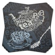 Ladelle - Tea Text Placemat Set 4pce