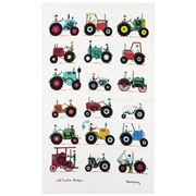 Rodriquez - Red Tractor Designs Tractor Show Tea Towel