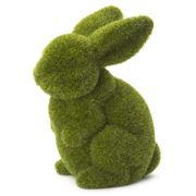 Rogue - Large Sitting Moss Bunny