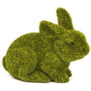 Rogue - Small Crouching Moss Bunny