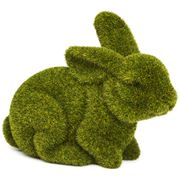 Rogue - Large Crouching Moss Bunny
