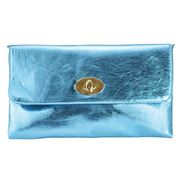 Condura - Metallic Clutch Sea Blue