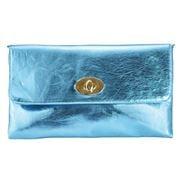 Condura - Metallic Clutch Sea Blue