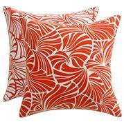 Florence Broadhurst - Japanese Fans Red Cushion