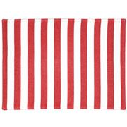 Ogilvies Designs - Beach Stripe Placemat Red