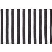 Ogilvies Designs - Beach Stripe Placemat Black