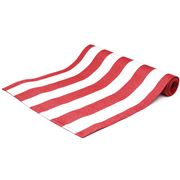 Ogilvies Designs - Tablerunner Beach Stripe Red