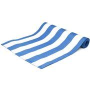 Ogilvies Designs - Beach Stripe Tablerunner Blue