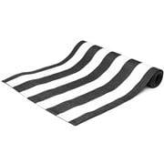 Ogilvies Designs - Beach Stripe Tablerunner Black