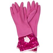 Ogilvies Designs - Fleur de Rose Cerise Glamour Gloves