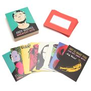 Galison - Andy Warhol's Greatest Hits Notecard Set