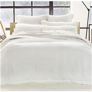 Sheridan - Abbotson Tailored Quilt Cover White Queen Size