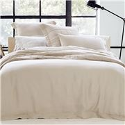 Sheridan - Abbotson Tailored King Size Quilt Cover Flax