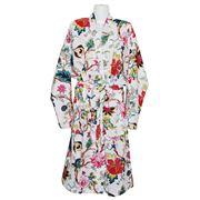 Floressents - White Chinese Flower Kimono