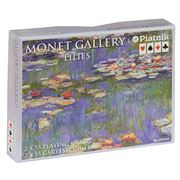 Piatnik - Monet Water Lilies Playing Cards