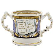 Aynsley - Commemorative Royal Baby Loving Cup