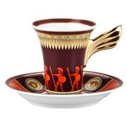 Rosenthal - Versace Iconic Heroes Espresso Cup & Saucer
