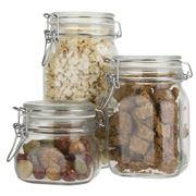 Bormioli Rocco - Fido Airtight Storage Jar Set 3pce