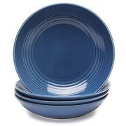 Royal Doulton - Gordon Ramsay Denim Maze Pasta Bowl Set 4pce
