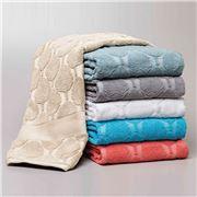 Florence Broadhurst - Ikeda White Bath Towel