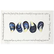 Raine & Humble - Fruits De Mer Mussel Tea Towel