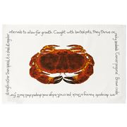 Raine & Humble - Fruits De Mer Crab Tea Towel