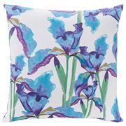 Linen & Moore - Floral Iris Cushion