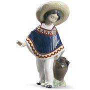 Lladro - Pedro With Jug Figurine