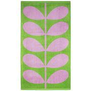 Orla Kiely - Stem Jacquard Beach Towel Grass & Lilac
