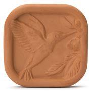 JBK Pottery - Brown Sugar Saver Tile Hummingbird