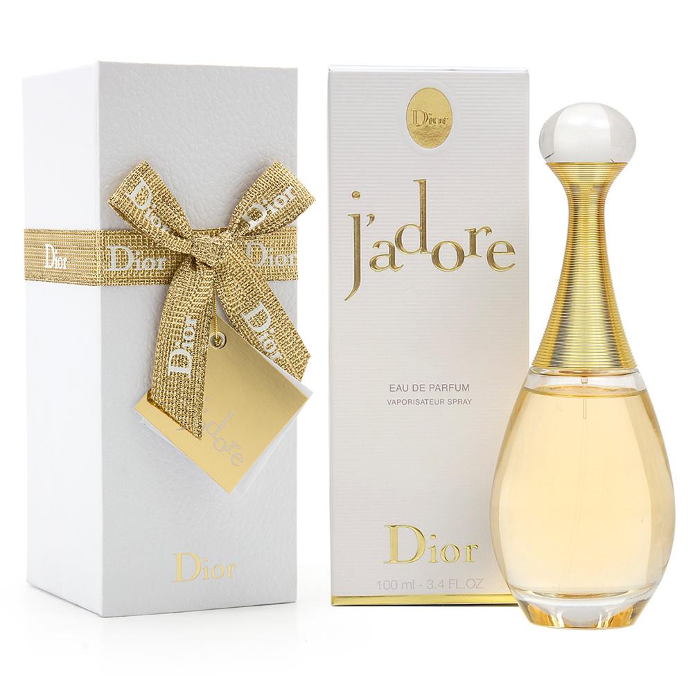 christian dior gift wrapped j 39 adore eau de parfum 100ml. Black Bedroom Furniture Sets. Home Design Ideas