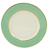 Limoges - Legle Water Green Bread & Butter Plate