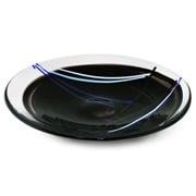 Kosta Boda - Contrast Dish Black