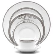 Wedgwood - Vera Wang Lace Platinum Place Setting 5pce