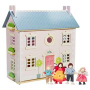 Le Toy Van - Bay Tree House & Doll Family Set