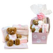Boz Baby - Pink Daisies Deluxe Baby Hamper