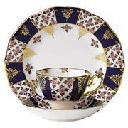 Royal Albert - 100 Years 1900s Regency Blue Tea Set 3pce