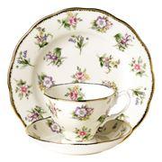 Royal Albert - 100 Years 1920s Spring Meadow Tea Set 3pce