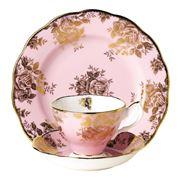 Royal Albert - 100 Years 1960s Golden Roses Tea Set 3pce