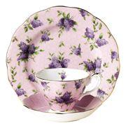 Royal Albert - 100 Years 1990s Hartington Lane Tea Set 3pce